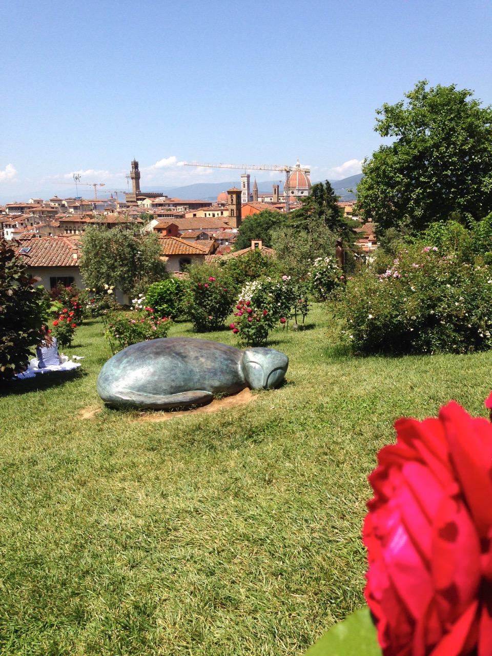 Florença: Jardim das Rosas