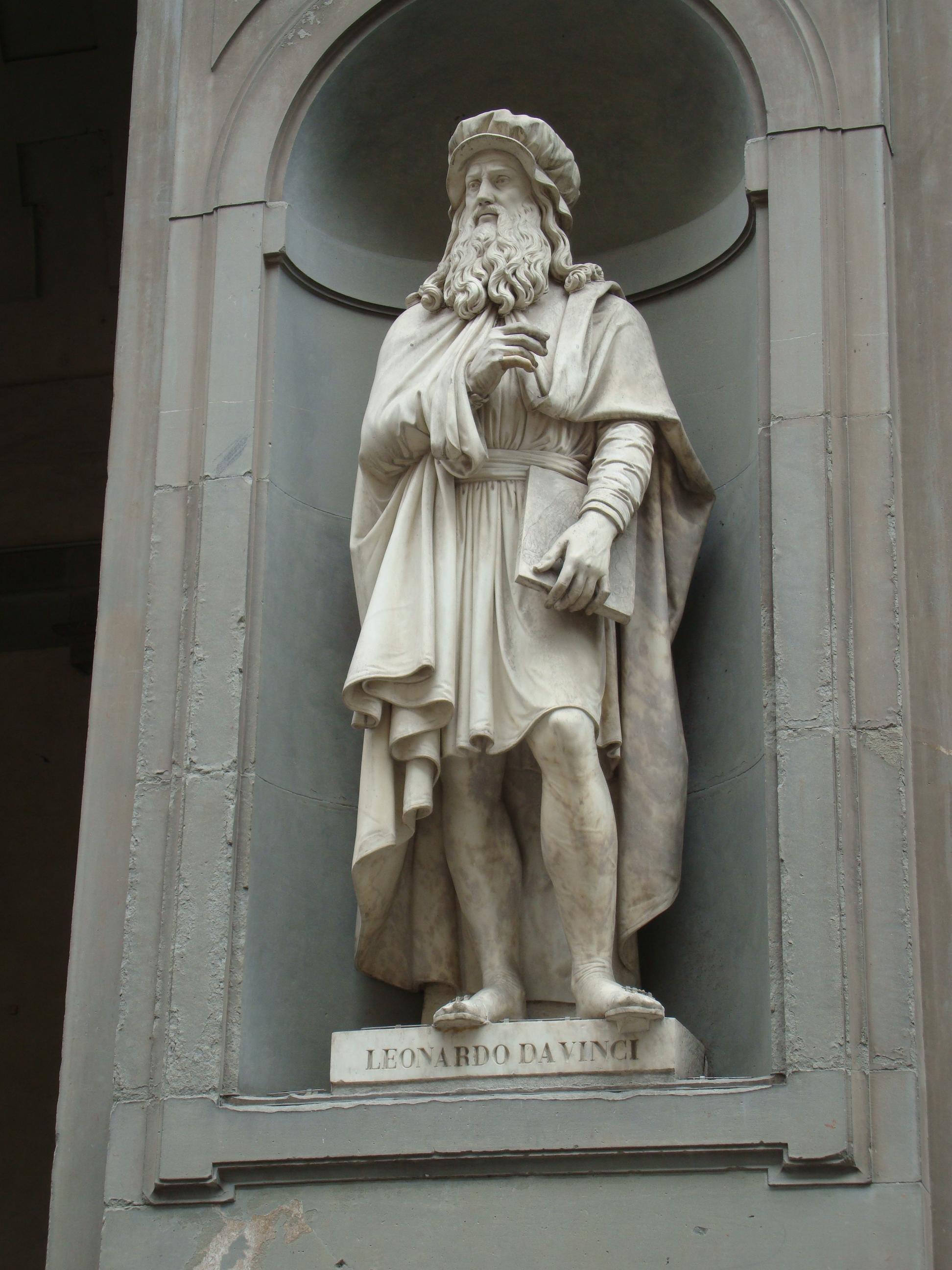 Leonardo Da Vinci, Galleria degli Uffizi, Florença.