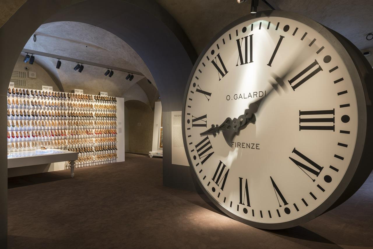 """Florence, Salvatore Ferragamo Museum: """"Salvatore Ferragamo, un Palazzo e la Città"""" Hall #00 ©2015 G.de Micheli per Salvatore Ferragamo"""