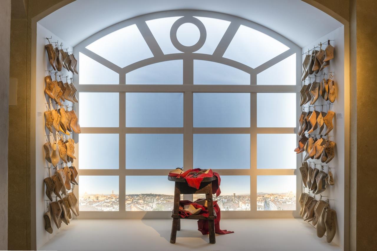 """Florence, Salvatore Ferragamo Museum: """"Salvatore Ferragamo, un Palazzo e la Città"""" ©2015 G.de Micheli per Salvatore Ferragamo"""