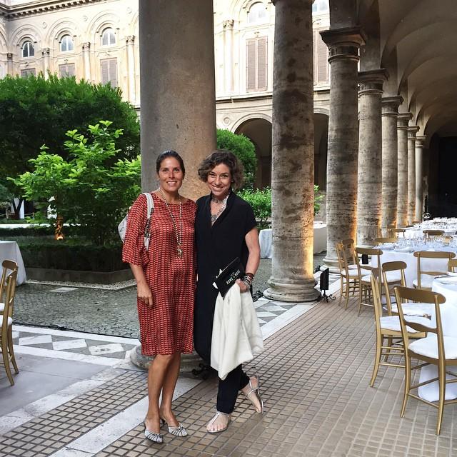 E uma festa de aniversário neste lindo palácio em Roma dos Doria Pamphilj