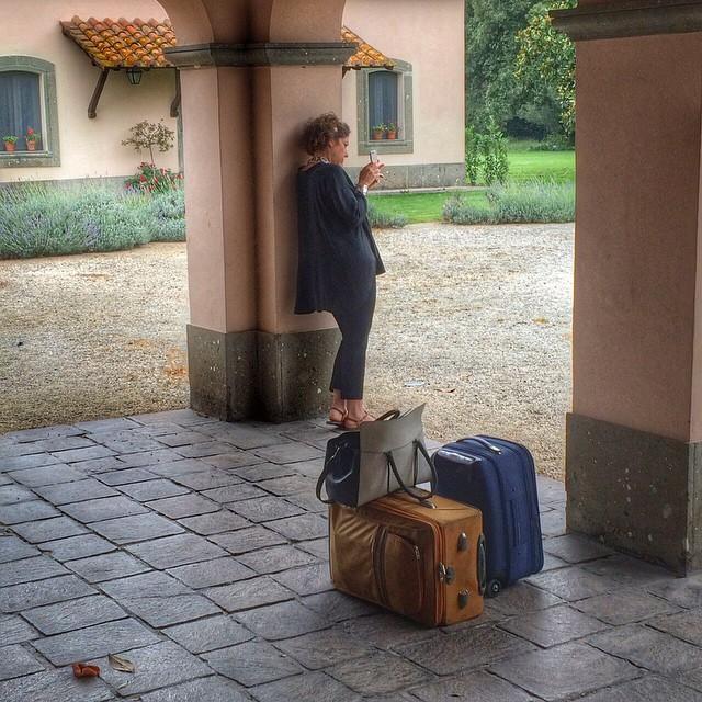 Partindo de volta a Florença...