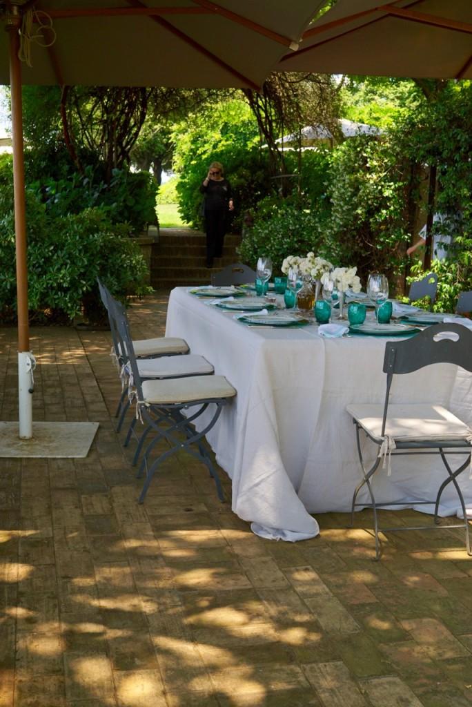 A mesa deslumbrante!