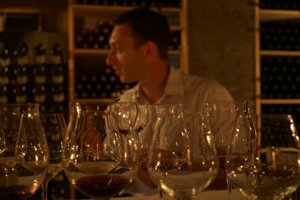 Guillaume nos explicou tudo com paciência e o grande amor que põe neste projeto. Ele cuida de tudo!! Da planta ao vinho por ser tanto agrônomo quanto enólogo.