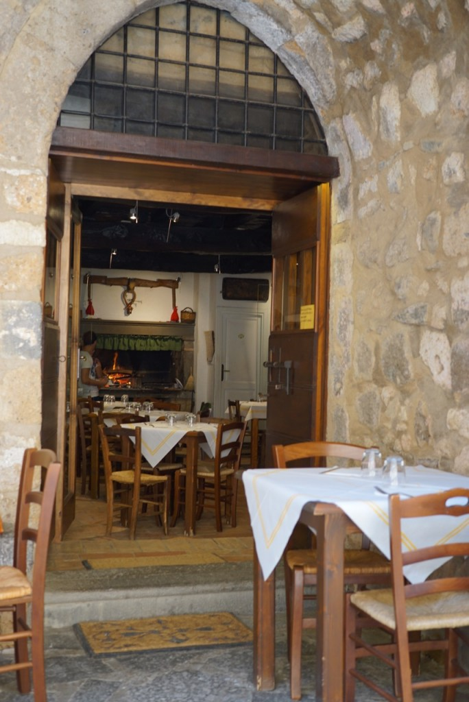Os restaurantes...
