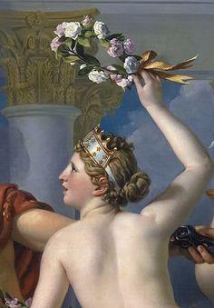 Jacques-Louis David detalhe Vênus