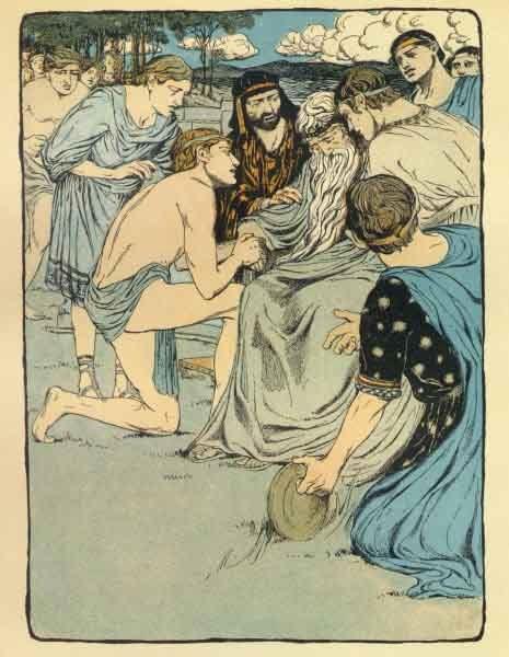 Perseu morte de Acrísio