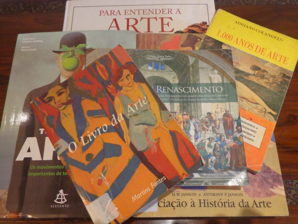 Acima, além de Vasari, a bibliografia consultada para esse post.