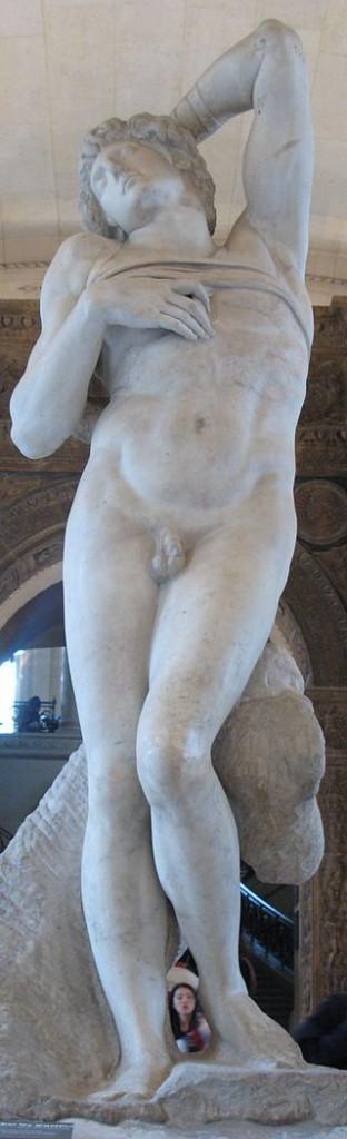 Escravo moribundo (1513/15). Museu do Louvre, Paris.