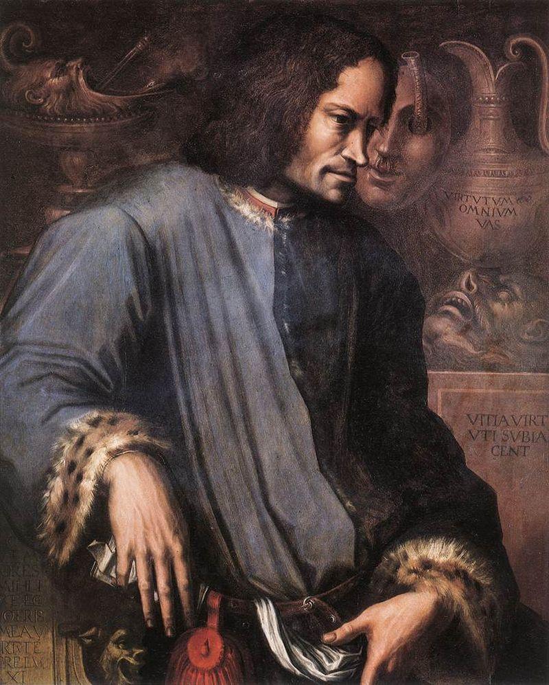 Lorenzo de Medici por Giorgo Vasari.