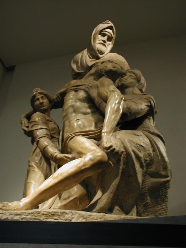Pietà palestrina. Pietà da Catedral de Santa Maria Del Fiore, Florença.