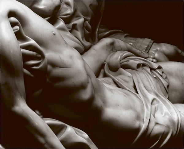 Pietà detalhe Cristo