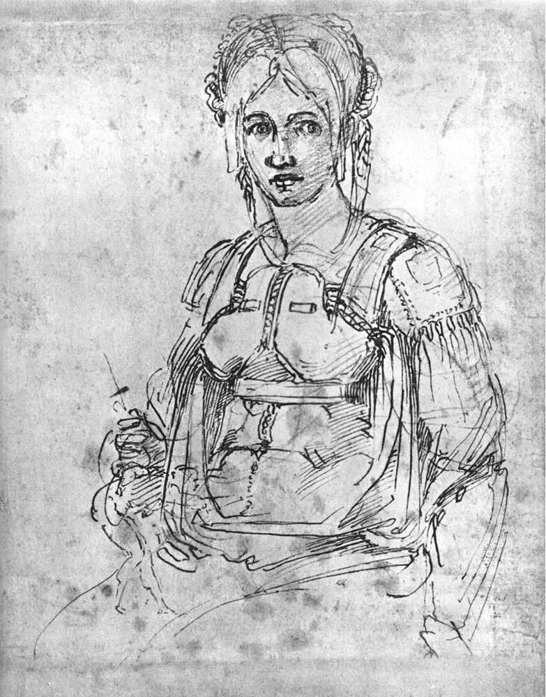 Piedade da Marquesa de Pescara (Vittoria Colonna). Museu Gardner de Boston.