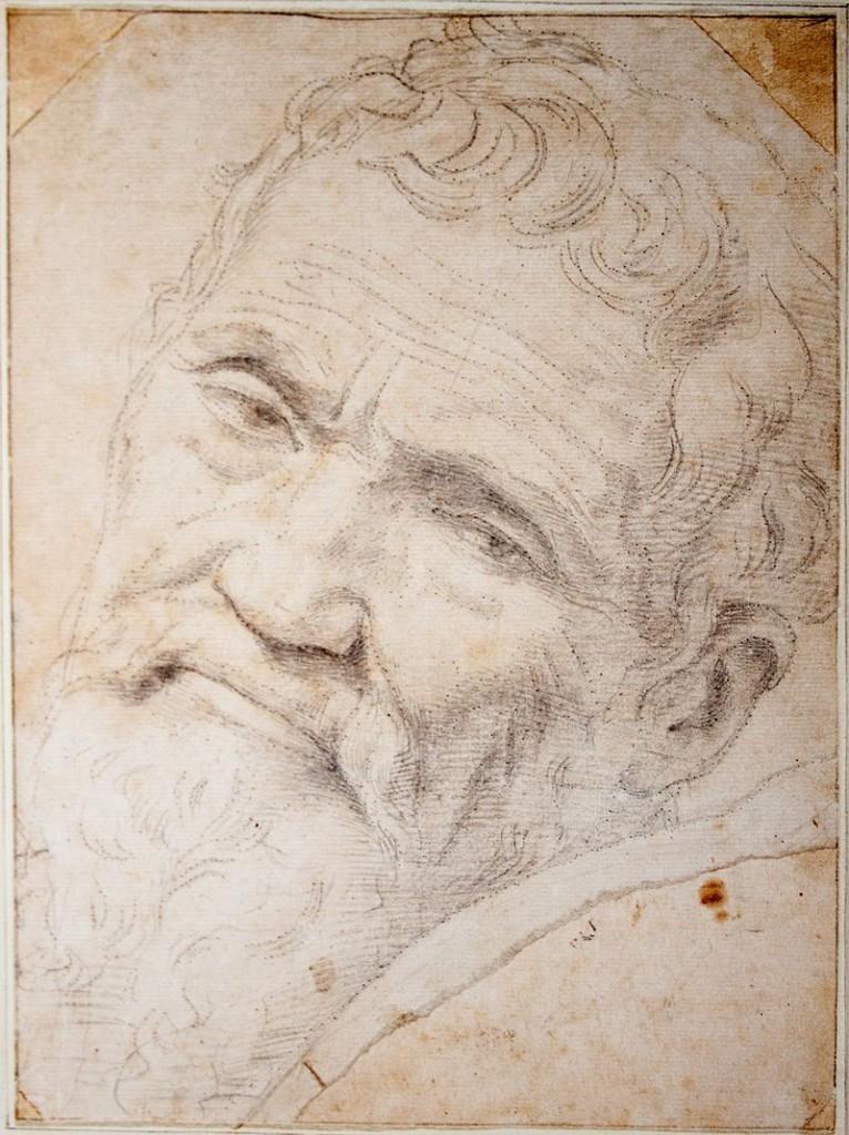 Michelangelo por Danielle de Volterra (1553).