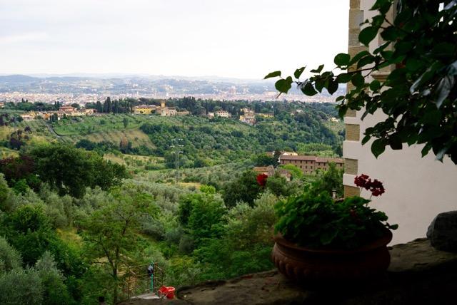 A vista de Florença vista da Tantafera!