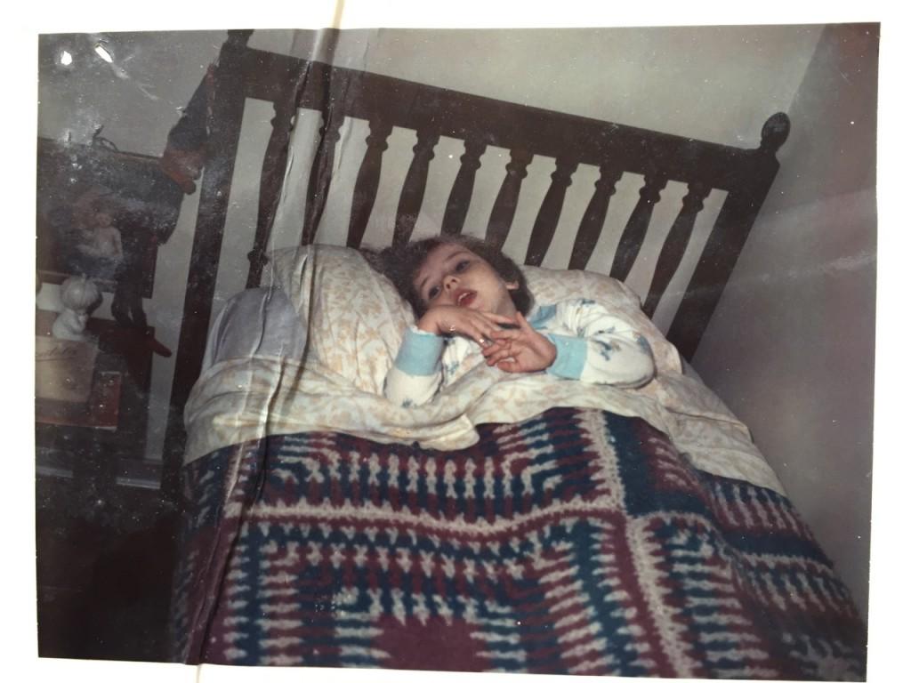 E o álbum termina assim... pijama combinando, como também as colchas que a Blanche tricotava!