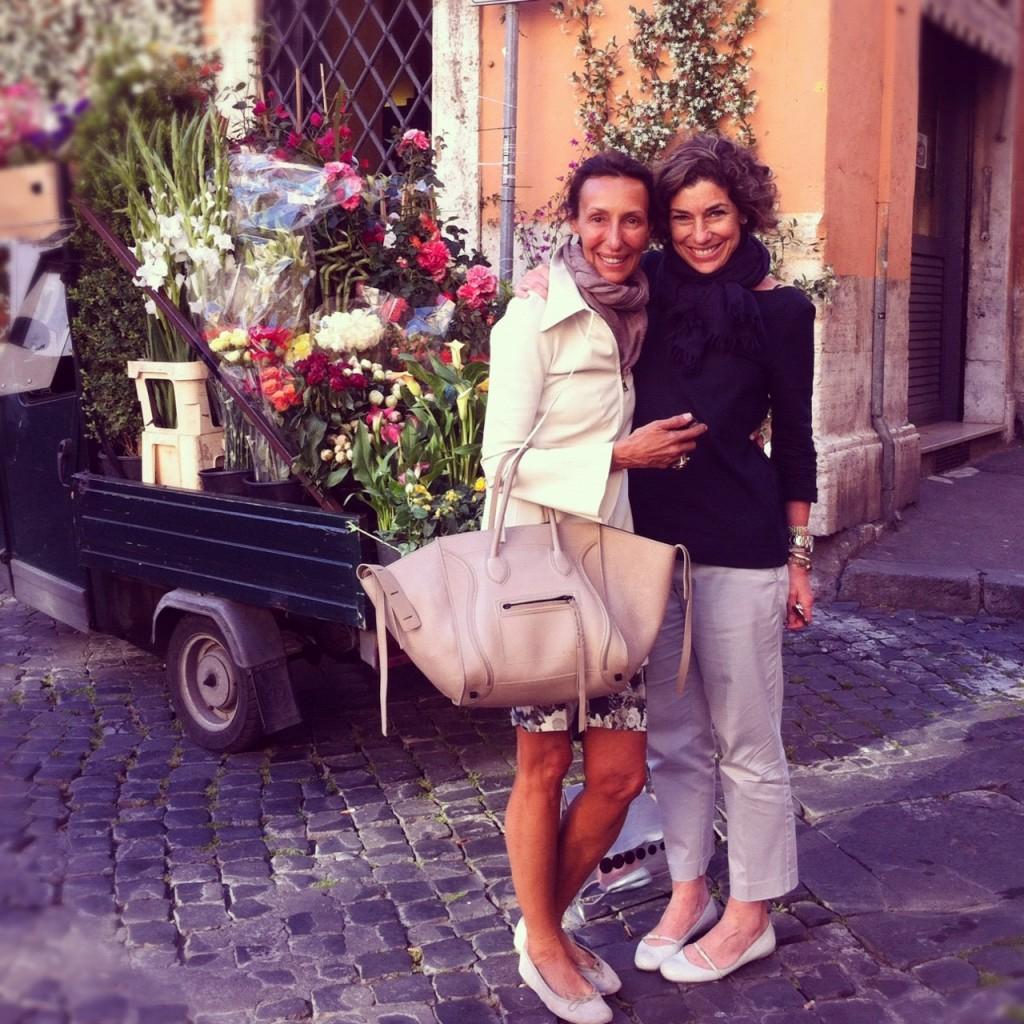 Em Roma com a elegantíssima e super amiga Kika!