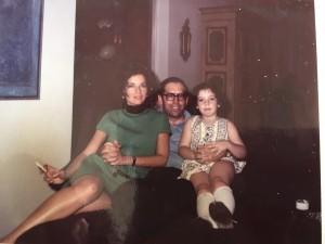 O final da festa... Olhem a beleza que foi minha mãe!! E o meu pai também!!!