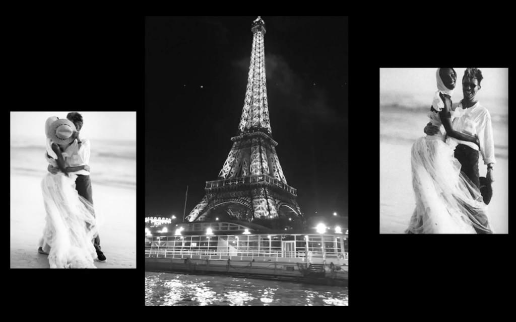 O pedido de casamento de David Bowie à Iman foi em Paris... detalhes? Dê o play!