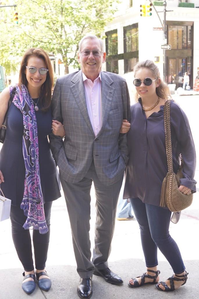 Lucia, Daddy e Allegra