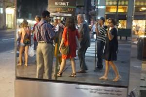 Andamos até o Bistrot Moderne... estava uma tarde linda!!!