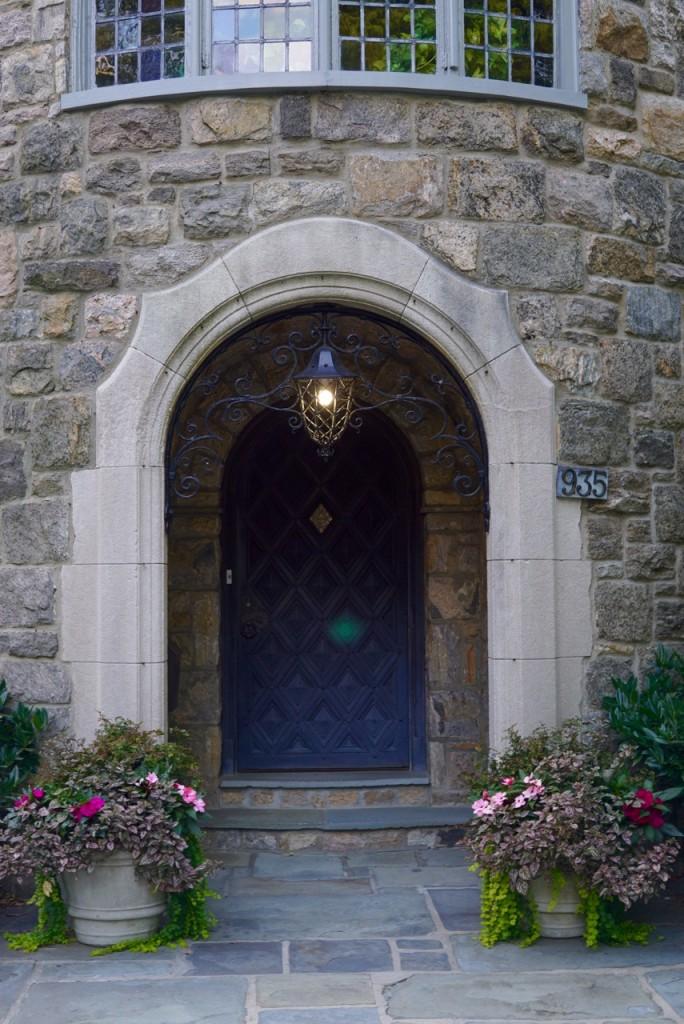 a porta de entrada da Presidente