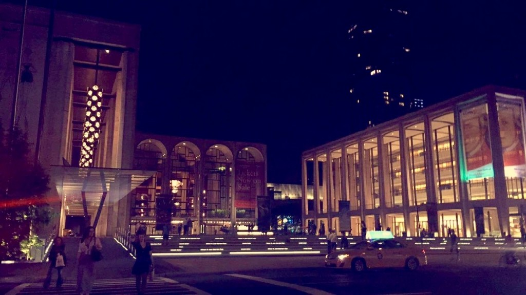 Lincoln Center de noite!!!