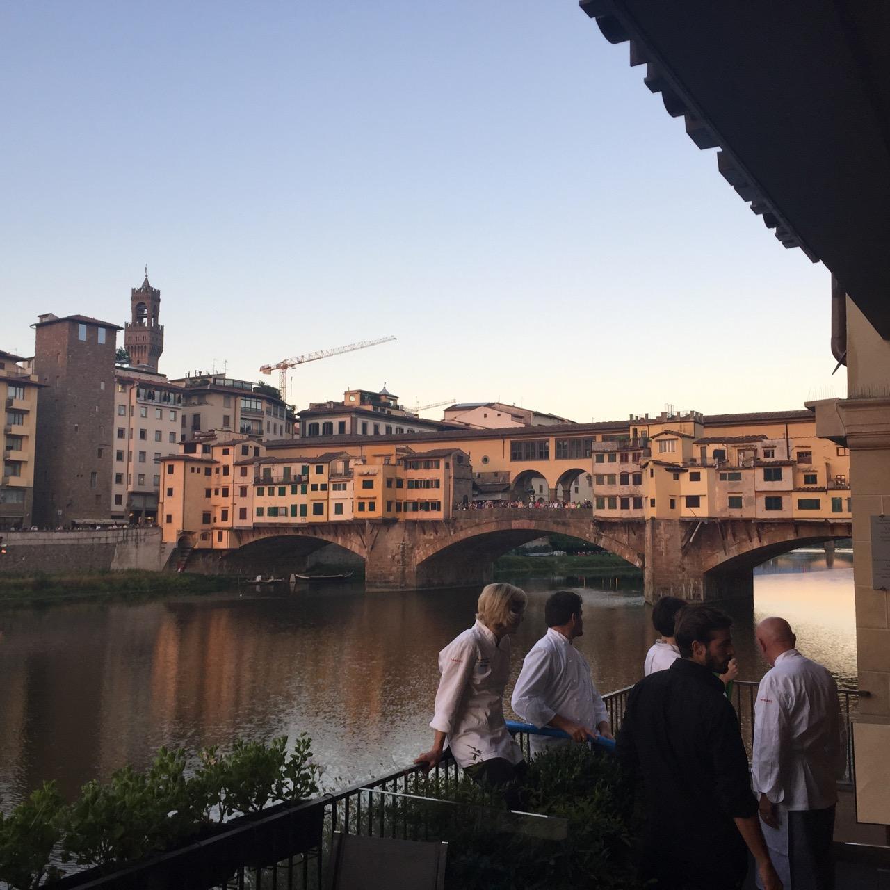Jantar estrelado!  Restaurante Florença, Borgo San Jacopo