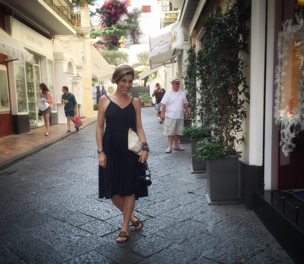 Primeiro dia em Capri... Foto Roberto Leone
