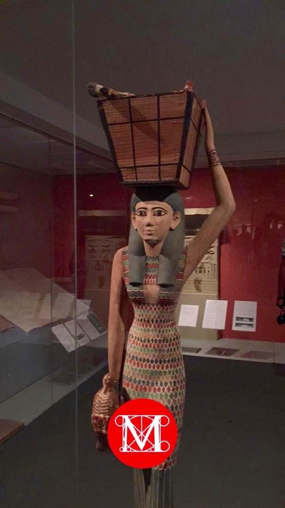 Visitando o museu... antigo Egito