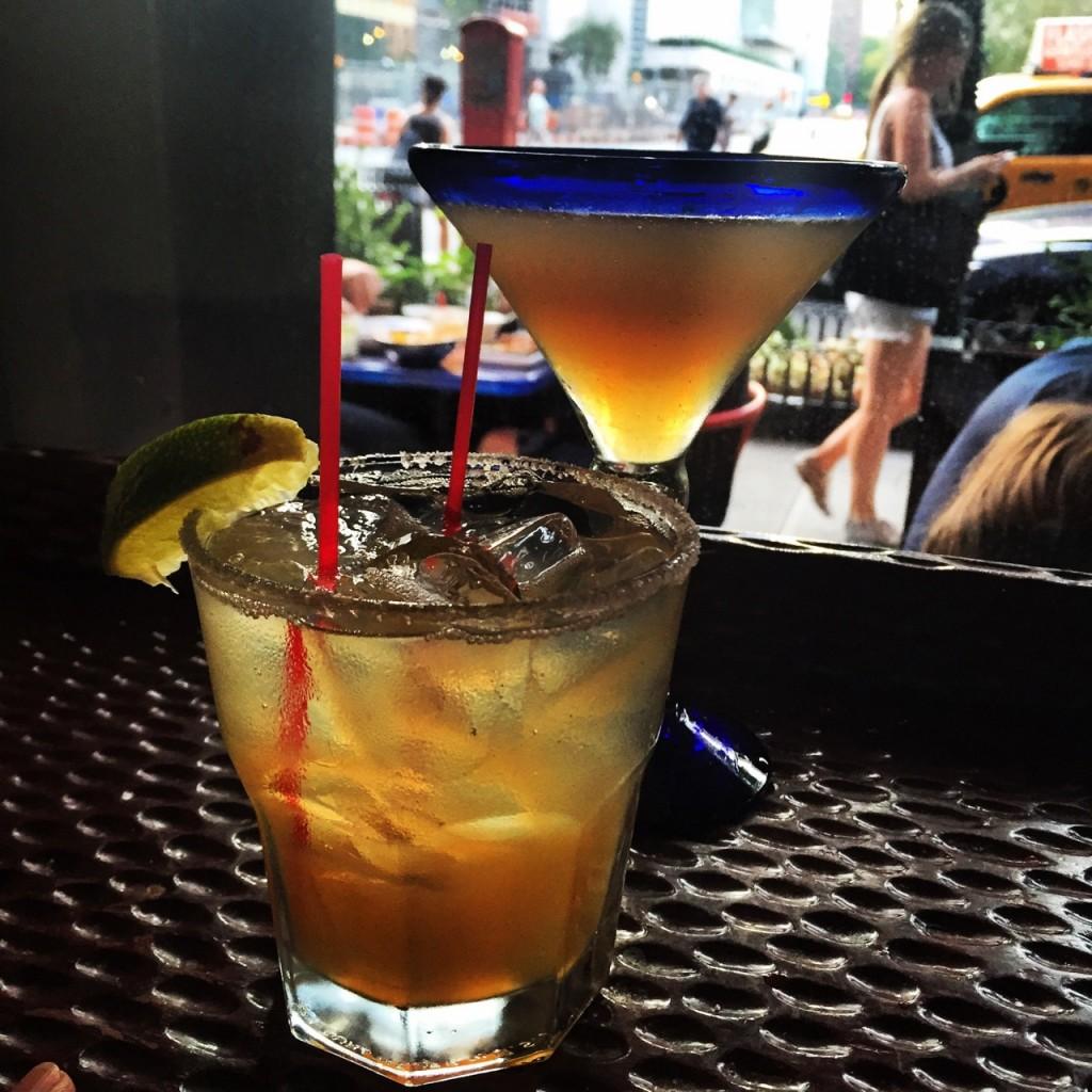 Fomos afogar as minhas mágoas em Margaritas!