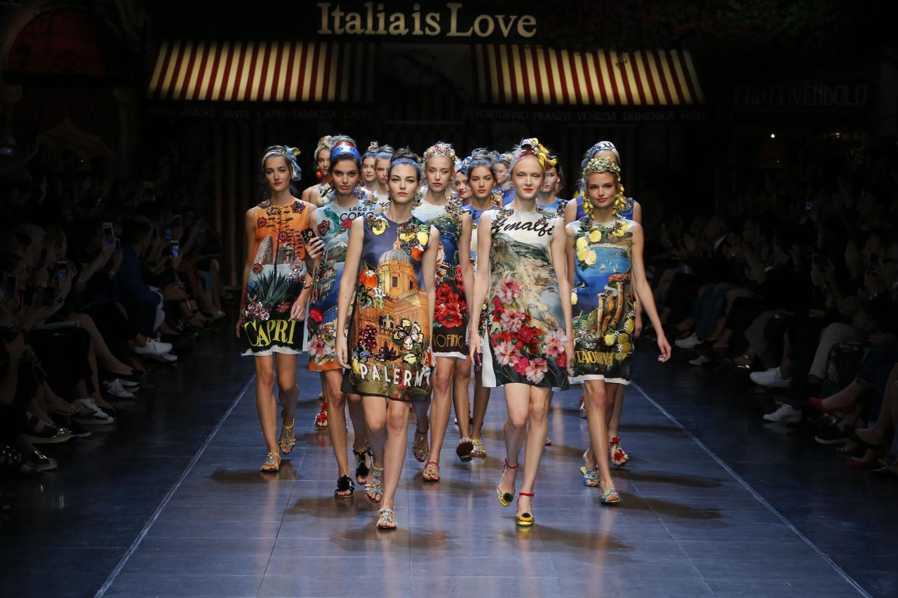 Milão – MFW – Dolce & Gabbana – We Love Italy!