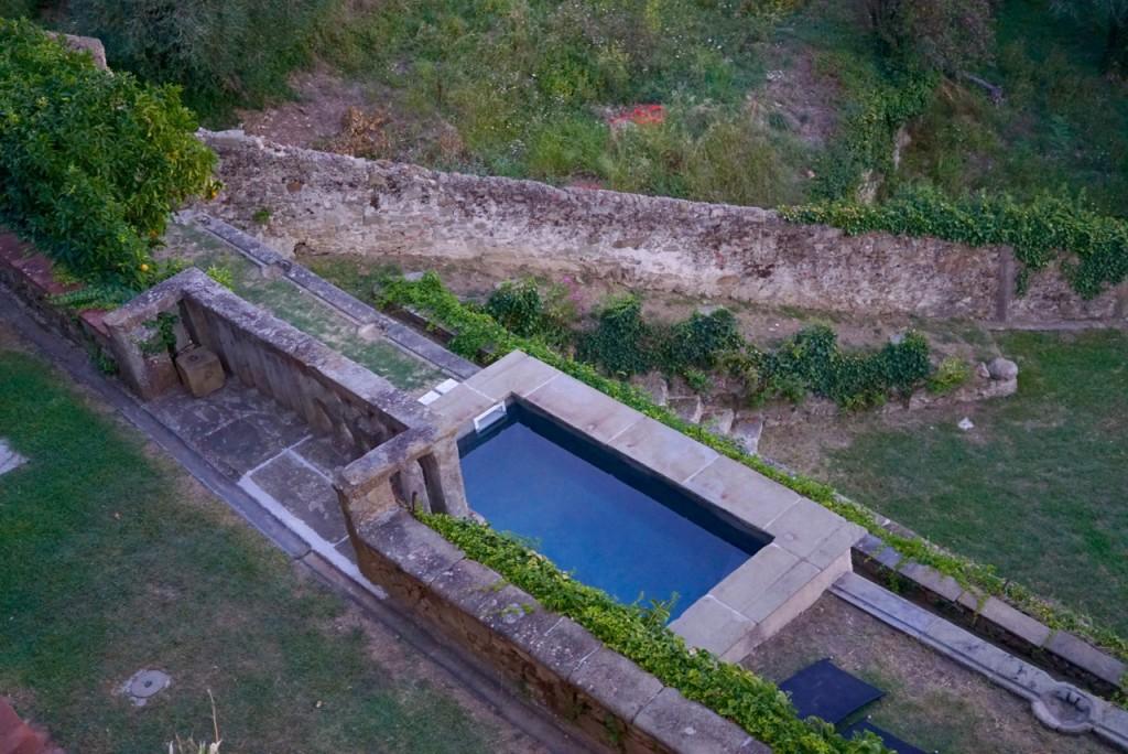 A nova piscina