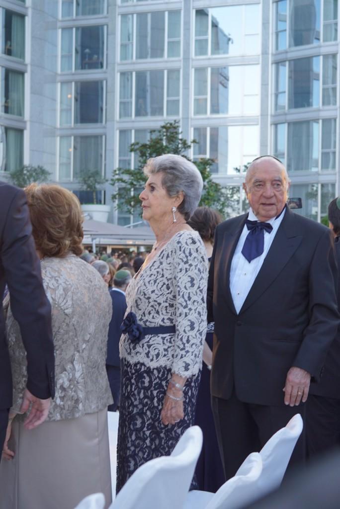 Os avós da noiva