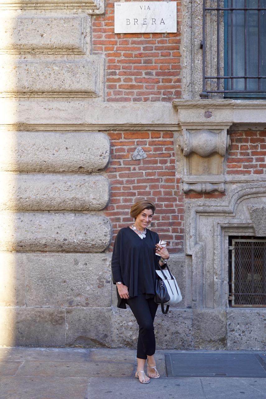 Passeando por Brera, um dia em Milão!!