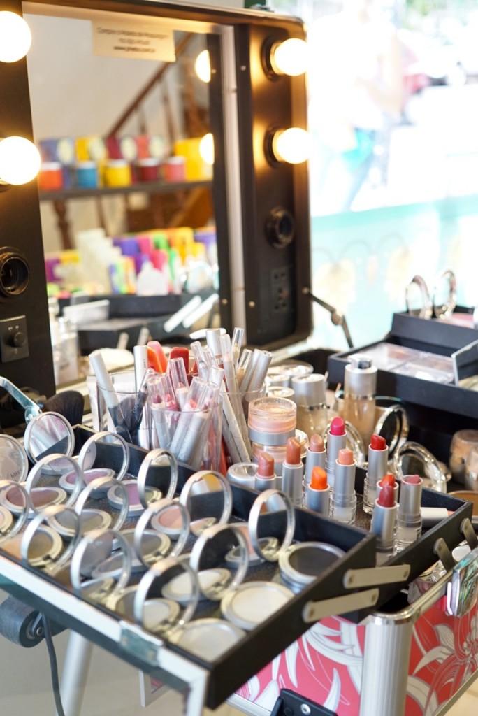 A maquiagem Phebo