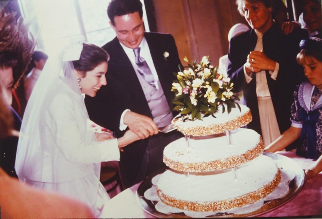 O bolo foi mil folhas. Minha irmã disse que foi o melhor mil folhas da sua vida!!