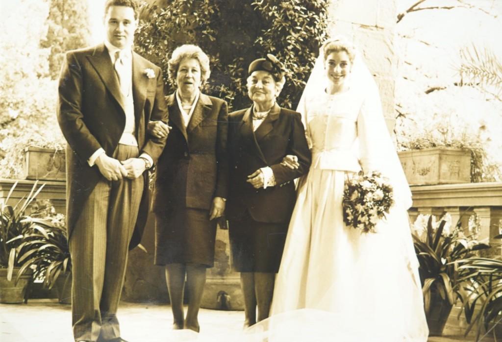 As avós: minha e do Francesco