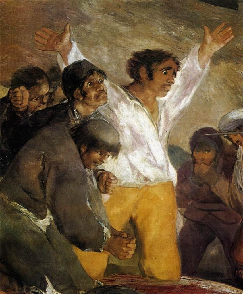 Goya detalhe 3 de maio