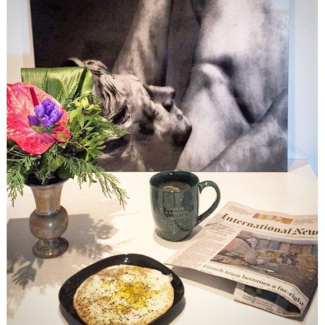 Minha receita de ovo para o café da manhã…