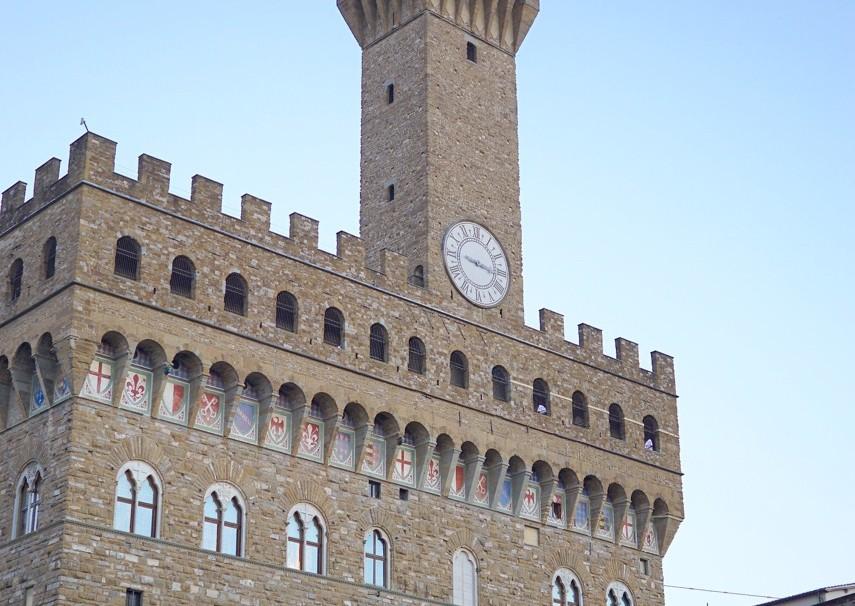 Como quase sempre faço, visito a Piazza della Signoria