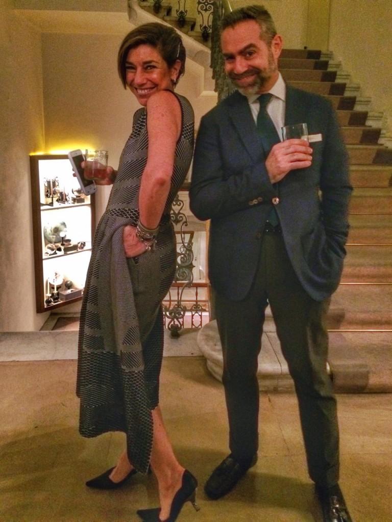 E Olivier. Meu vestido é GIG Couture