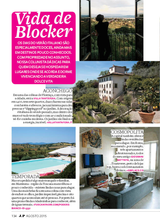 Onde alugar na Itália!