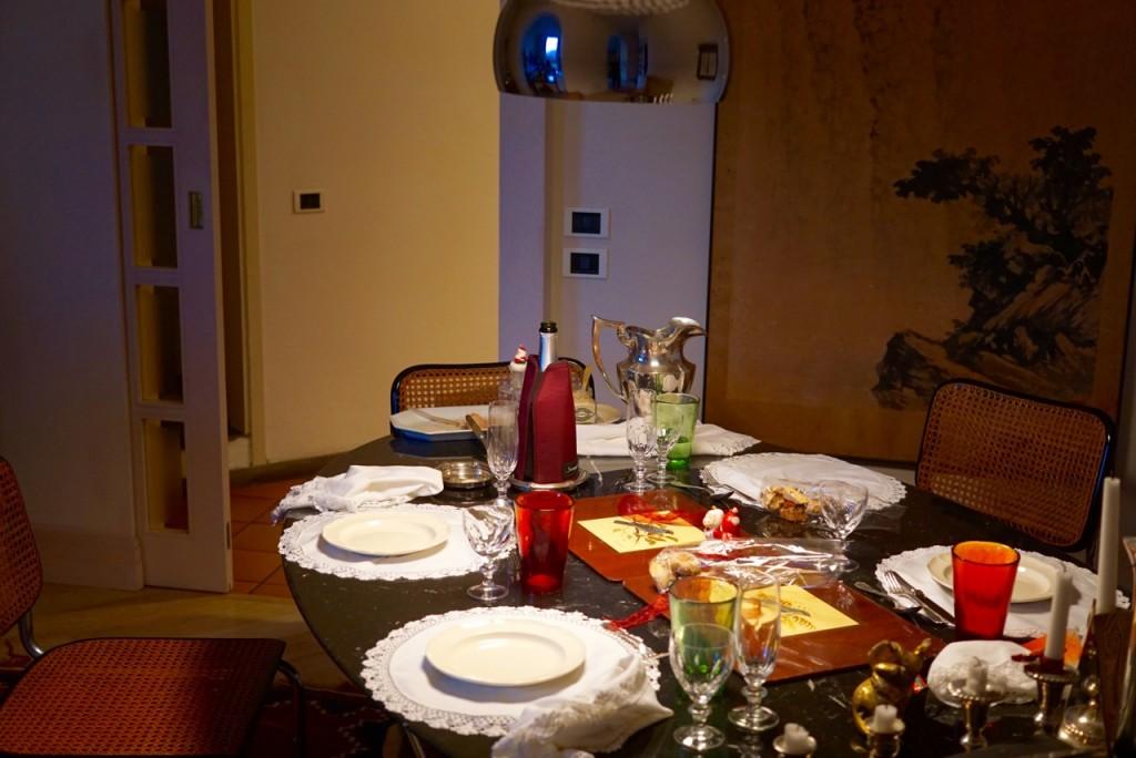 A mesa!