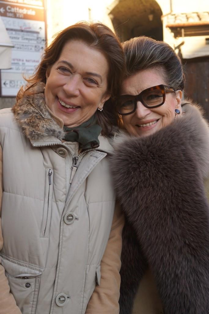 Cristina Allegri è grande amiga de minha mãe e mora em Cortona.