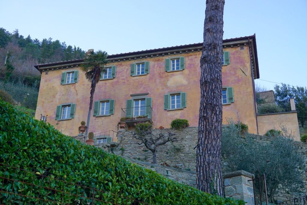 A casa de Frances Mayes em Cortona.
