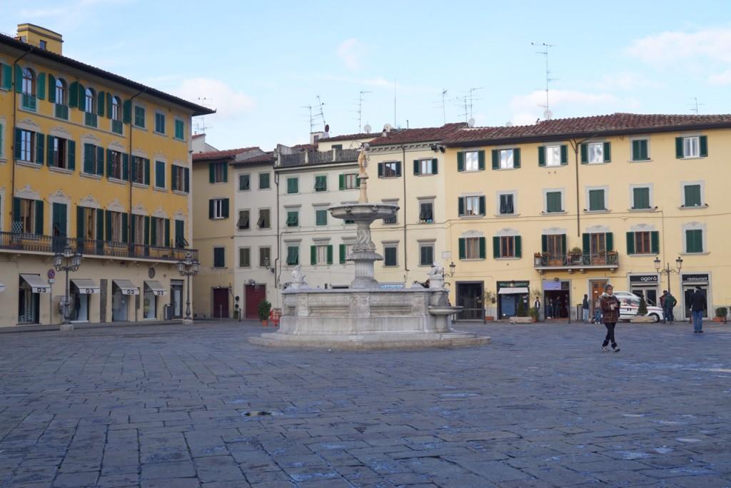 A praça do Duomo