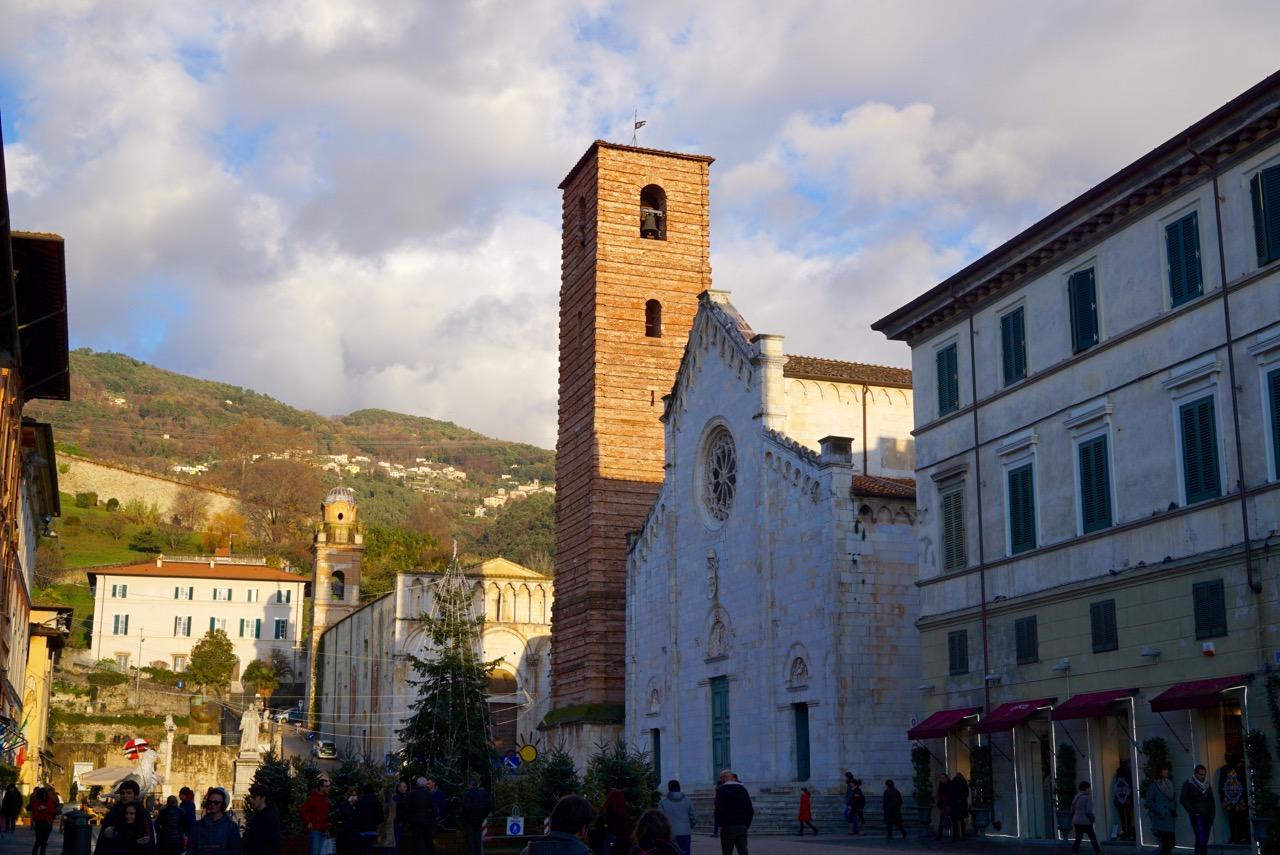 Visitando Pietrasanta, Toscana