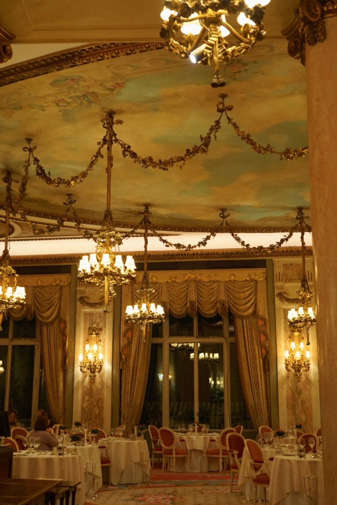 A grande sala de jantar