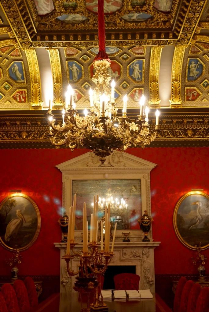 Salas e aposentos do Sir William Kent House